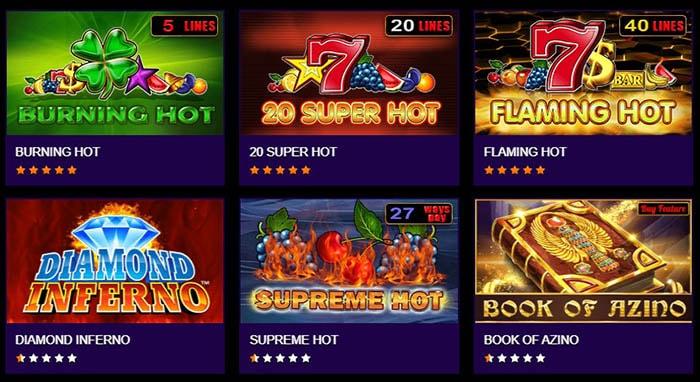 Игровые автоматы Азино777 казино: яркая игра бесплатно и на деньги в любое время